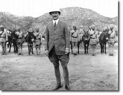 An Officer with the Frontier Corps - 1912
